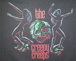 the creepy creeps